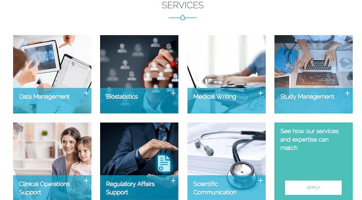 Création site internet 4 Clinics