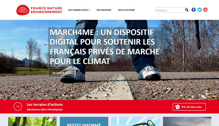 Cr�ation site internet France Nature Environnement