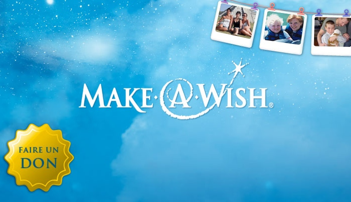 Cr�ation site internet Make A Wish