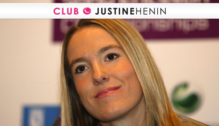 Cr�ation site internet Justine Henin Club