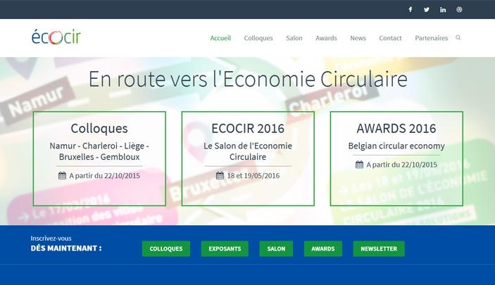 Création site internet Ecocir